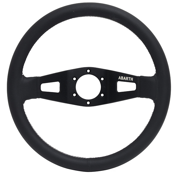 ABARTH Leather Steering Wheel (Deep Cone)