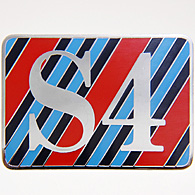 Lancia Delta S4 Emblem for Front Grill