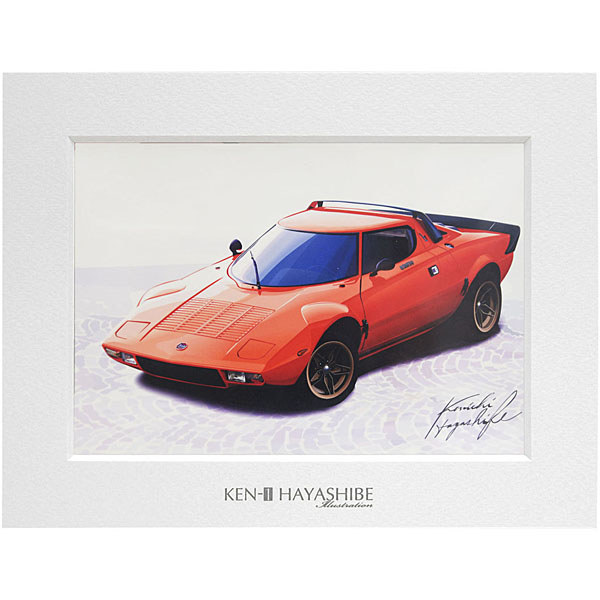 LANCIA Stratosイラストレーション by 林部研一<br><font size=-1 color=red>04/10到着</font>