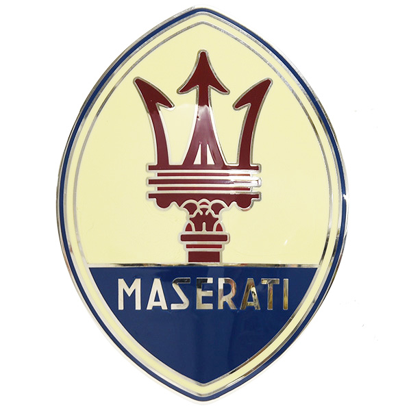 MASERATI  Oval Colored Emblem (Large)