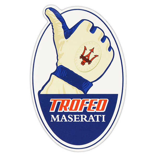 Trofeo MASERATI Official Sticker