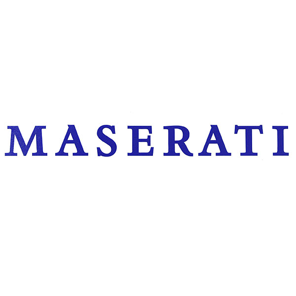 MASERATI Logo Sticker