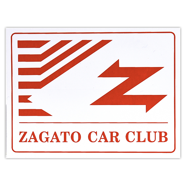 ZAGATO CAR CLUB ITALIAステッカー