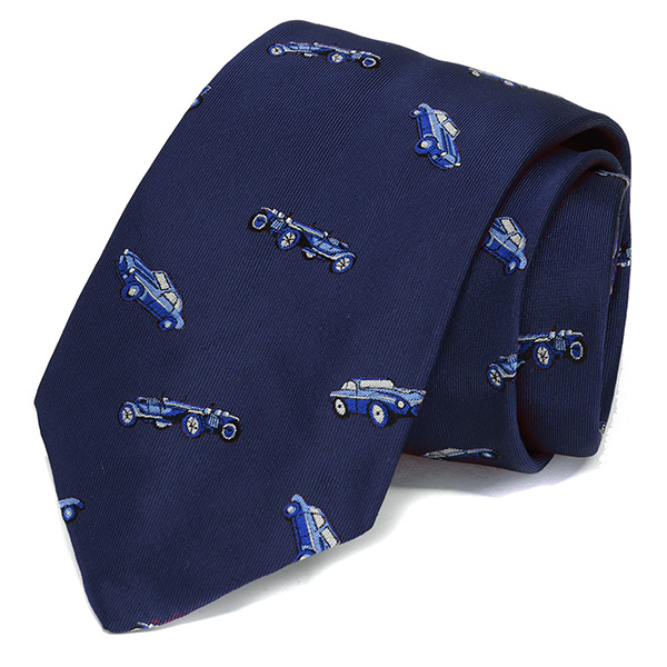 ZAGATO CAR CLUB Tie(Navy)