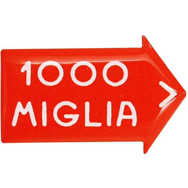 1000 MIGLIA Official 3D Sticker