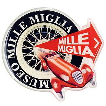 1000 MIGLIA Official 3D Round Sticker