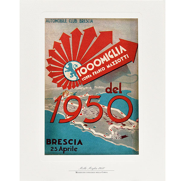 1000 MIGLIA Official Desk Dialy&Letter Set