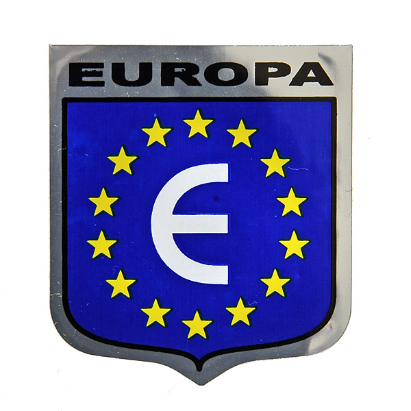 City Symbol Euro Sticker