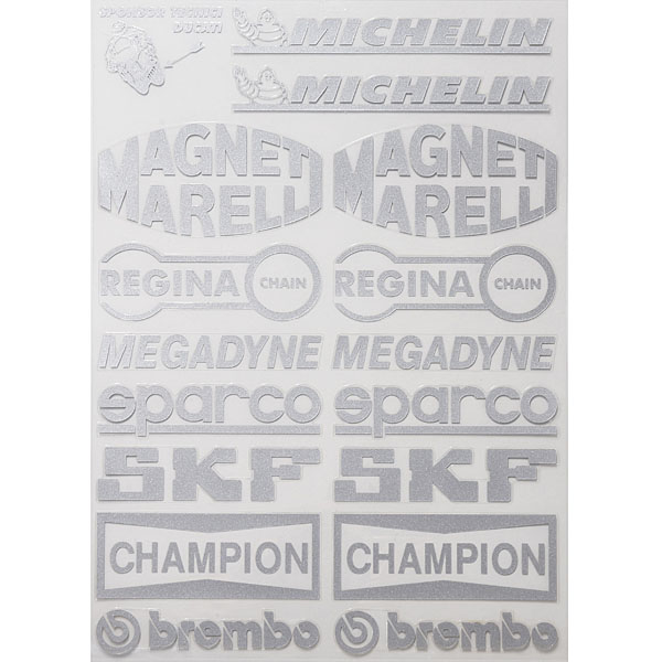 DUCATI TECNI Sticker Set