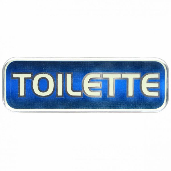 TOILETTE 3D Sticker