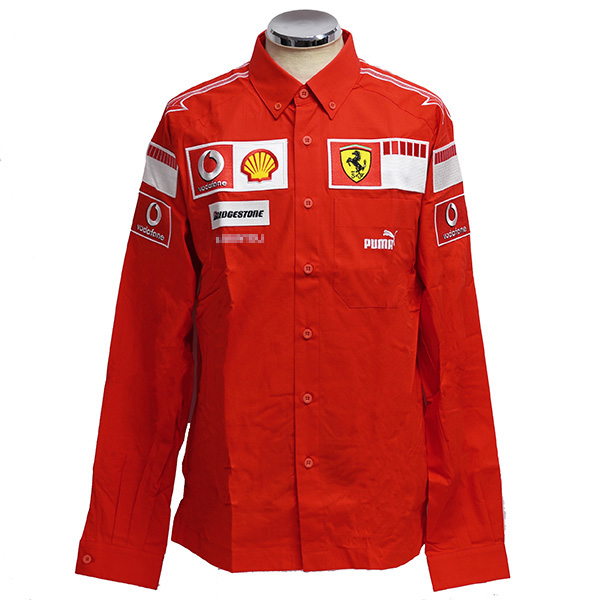 Scuderia Ferrari 2006 Team Staff B.D.Shirts(Long Sleeves)