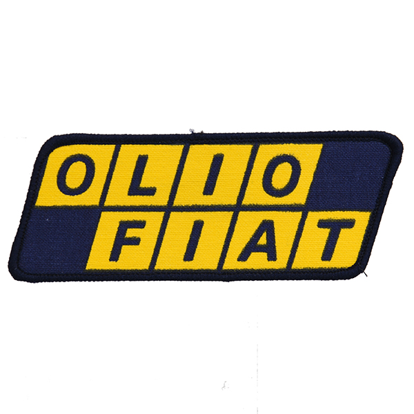 OLIO FIAT Logo Patch