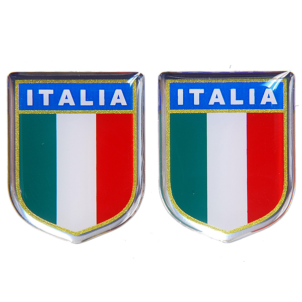 ITALIAN FLAG Sticker Type E