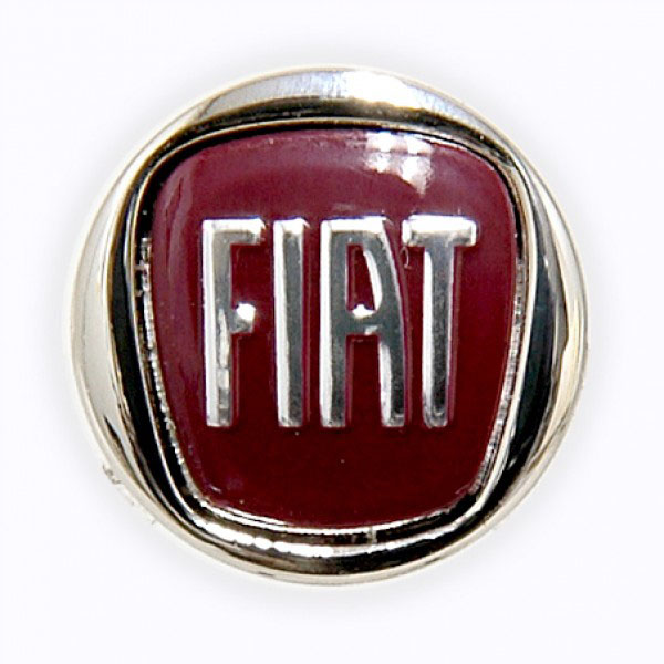FIAT New Emblem Pin Badge