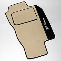Alfa Romeo 156/SW Floor Mats(Beige/Black Piping/RHD)