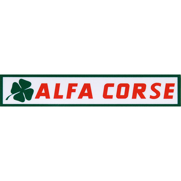 ALFA CORSE Logo Color Sticker