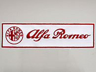 Alfa Romeo Emblem & Logo Patch(Large)
