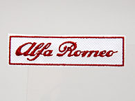 Alfa Romeo Logo Patch (White Base)