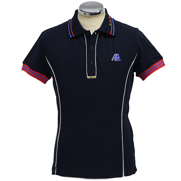 LANCIA Elephantino Polo Shirts(for Men/Short Sleeves)