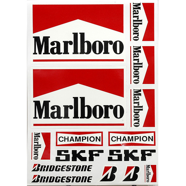 Sponsor Sticker Set(Marlboro etc)