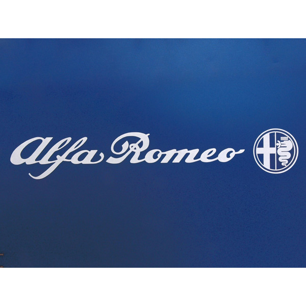 Alfa Romeo Logo&Emblem Sticker(245mm)
