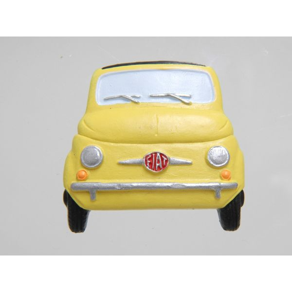 FIAT 500 Shaped Magnet