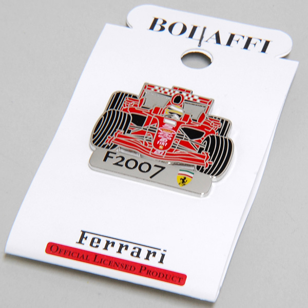 Ferrari Official Pin Badge (F2007) by BOLAFFI