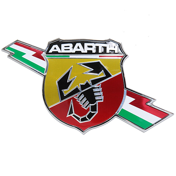 FIAT NEW ABARTH EMBLEM (for body side)<br><font size=-1 color=red>11/18到着</font>