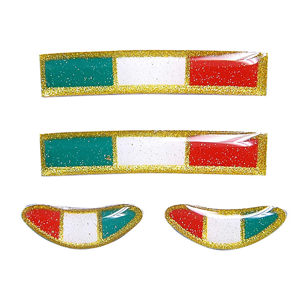 TRIM ITALY 3D Sticker Set (4pcs.)