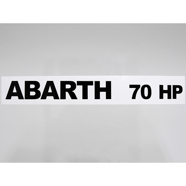 ABARTH 70HP Sticker for A112