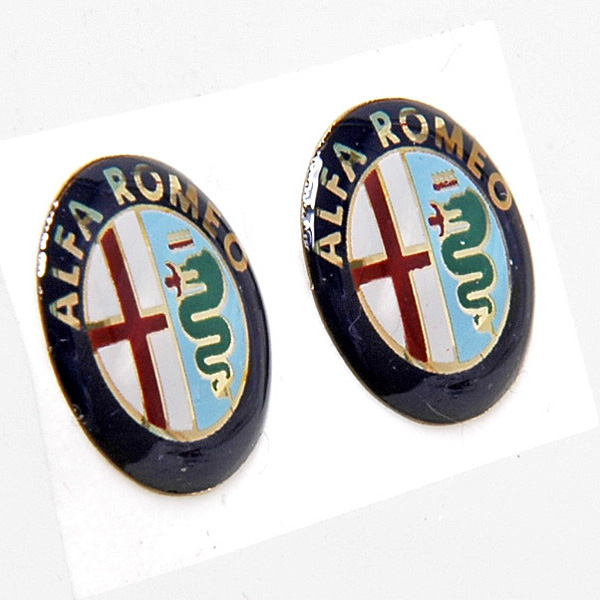 Alfa Romeo small Emblem for Keyhead (New Color)