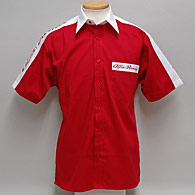 Alfa Romeo Sports Shirts (Short Sleeves/Red/White)