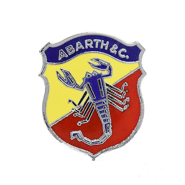 ABARTH & C Emblem (Small/Type A)