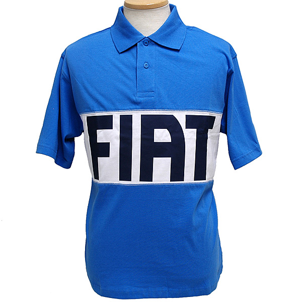 FIAT Lettered Polo Shirts