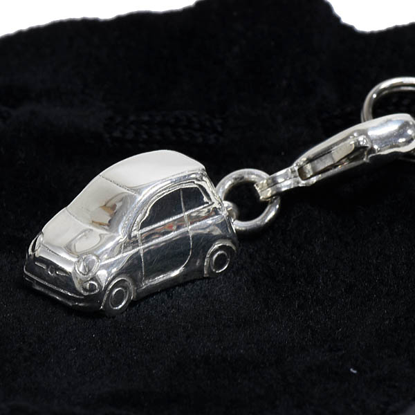 FIAT NEW 500 Silver Strap for Handy Phone