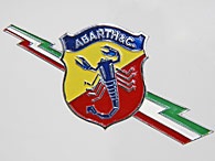 ABARTH & C Flash Emblem (Paint)