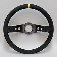 ABARTH 2 Spokes Steerling Wheel (Fake Leather)