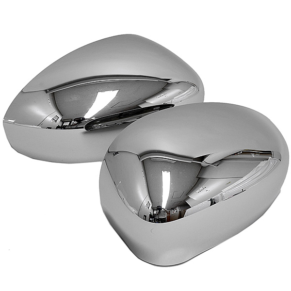 FIAT NEW 500/500 ABARTH Chrome Millor Cover Set<br><font size=-1 color=red>11/18到着</font>